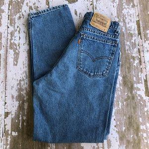 Levi's Loose Fit Straight Leg Jeans Orange Tab 10